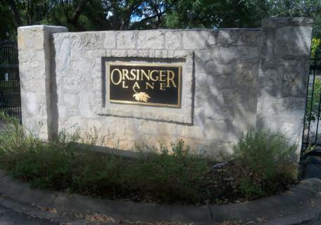 Orsinger Lane Homeowners Association